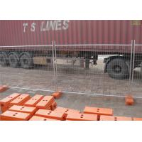 Quality 2.1mtrs x 2.4mtrs width mesh 60mm*150mm diameter 4.00mm as4687-2007 temporary fencing panels for sale