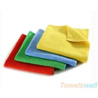 Quality Microfiber Polyester / Polyamide Warp Knitted Cloth, Lint Free, Ultra Soft, Streak Free, for sale