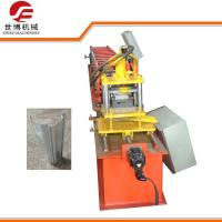 China 380V Automatic Roller Shutter Door Forming Machine With Roller Emboss Function on sale