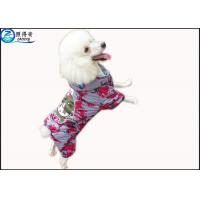 Quality Unique Dog Clothes Custom Design  / Fashion Dog Clothing Colorful Pets Products for sale