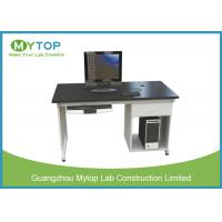 Quality Anti Static University Laboratory Furniture Computer Lab Desk For Single Student for sale