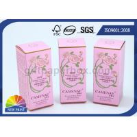 Quality Custom Printed Perfume Packaging Box , Recycled Paper Cosmetic Boxes Eco-friendly for sale