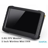 Buy 5 Inch FPV Monitor Wireless AV Receiver 5.8Ghz For Helicopter , 32GB Card at wholesale prices