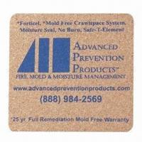 Quality Plastic coaster, customized sizes, shapes and logos are accepted for sale