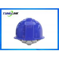 Quality 4G Intelligent Construction Worker Helmet With Wireless Camera Three Proof Design for sale