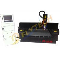 China Latest 4*8feet tombstone engraving machine with pully heavy duty cnc router machine on sale