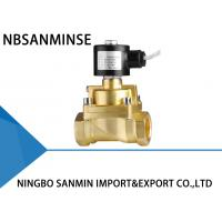 Quality A1 Piston Brass Solenoid Valve Low Pressure / High Pressure Thread Connection for sale