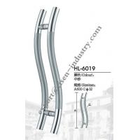 Quality Stainless steel door handle HL6019, dia32 X 600 for sale