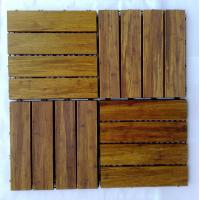Buy cheap DIY Bamboo Decking Tiles from wholesalers