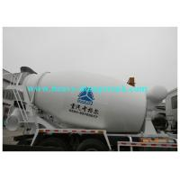 China Self loading concrete mixer truck 4x2 6x4 8x4 5 to 18 cubic meters for Africa on sale