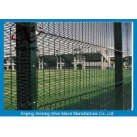 Quality Anti Climb Mesh Fence / Galvanized Walkway School Security Fencing for sale
