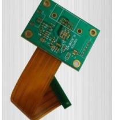 Quality Connector Device Rigid Flex PCB Board High Precision 3 Mil Min Line Width 0.006'' Thru Holes for sale