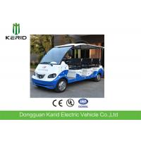 Quality Long Range Multi Passenger Electric Tourist Car 72V AC System 1 Year Warranty for sale