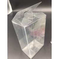 Buy China Clear plastic boxes folding up PVC or PET box customized size packaging at wholesale prices