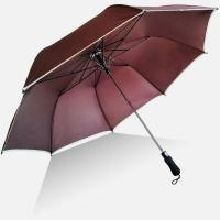 Quality Windproof Logo Printing Auto Open Close Golf Umbrella , Storm Proof Umbrella for sale