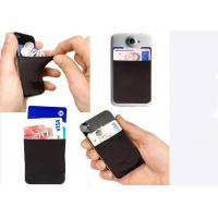 Quality OEM Fashion Silicone Gift Credit Card Holder For Cell Phone / Mobile Phone for sale