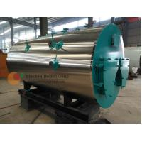 China High Efficiency Oil Fired Hot Water Boiler Three Pass Structure 0.1- 20 Tons on sale