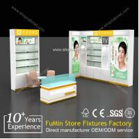 Quality clear acrylic cosmetics retail displays showcase for sale