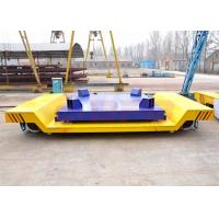 Quality 30t large platform electric rail mounted molten steel carriage with electric scale and LED screen for sale
