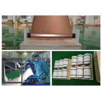 Quality Red 12um Thin Graphene CopperRoll , RoHS Approval Copper Metal Sheets for sale