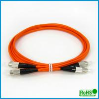 China Multimode Duplex Fiber Optic Patch Cables For High Bit Rate Data Transmission on sale