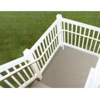 Buy silver Exterior Aluminum Hand Railings with T4 , T5 , T6 Temper at wholesale prices