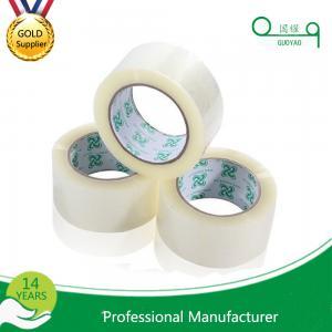 China Factory Manufactured No Bubble Waterproof Scotch BOPP Adhesive carton sealing tape on sale