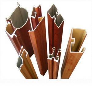 Quality 6063 - T5 Aluminum Door Extrusions For Sliding Doors GB / 75237 - 2004 for sale