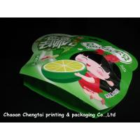 Quality Colorful Small Shaped Packaging Pouches Safety For Fruit Candy / Cookies for sale