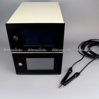Quality Step or continuous Ultrasonic Plastic Welding Equipment / Wire Embossing Machine for sale