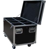 Quality 20U Standard Rack Flight Case With 9mm Plywood / Trolley Case for sale