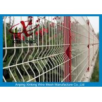 Quality Customized Size Welded Wire Screen Green / Red / Yellow / White Color for sale