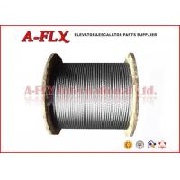 Quality custom 10mm Full Steel Core 8*19S Elevator Steel Wire Rope For GoldSun for sale