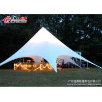Quality Outside Catering Star Shade Tent For Outdoor Party UV - Resistance for sale