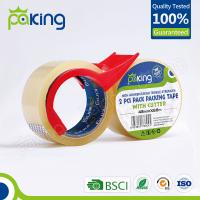 Quality professional manufacturer bopp self adhesive waterproof tape for box packing for sale