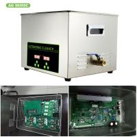 Quality Digital 30l 600w Heater Ultrasonic Cleaner 1-30 Minutes Timer For Oil Metal Parts for sale