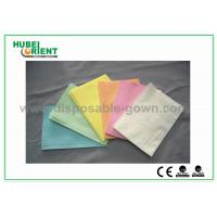 Quality CE ISO Certificate Dental Disposable Apron With Tissue Coated PE Materials , 39*68cm for sale