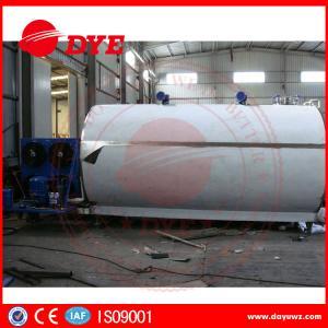 Quality Large Capacity 2000L 3000L 5000L Milk Cooling Tank Refrigeration Compressor for sale