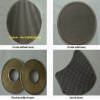Quality Different shape of Stainless Steel Disc Filter Screen mesh for filter element for sale