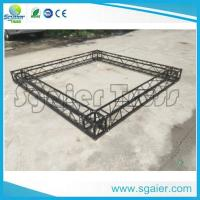 Quality Black Structural Aluminum Truss Display For Exhibition Trade Show Booth for sale
