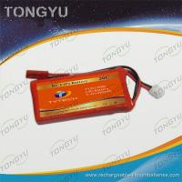 Quality Light Weight 40C Helicopter Lithium Polymer Battery Pack 7.4V 1350mAh for sale
