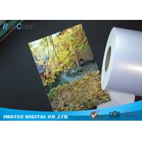 Quality High Glossy Metallic Inkjet Media Supplies 260gsm Resin Coated Inkjet Photo Paper for sale