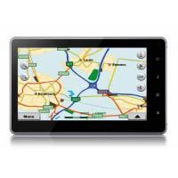 Quality Portable 7 Inch Capacitive Android 2.2 Tablet PC with internal WiFi and Google Map for sale