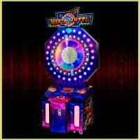 Quality Magic Wheel ticket lottery game machine for sale