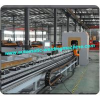Quality 4 Axis Plasma CNC Cutting Machine For Square Rectangle Tube / Angle Steel for sale