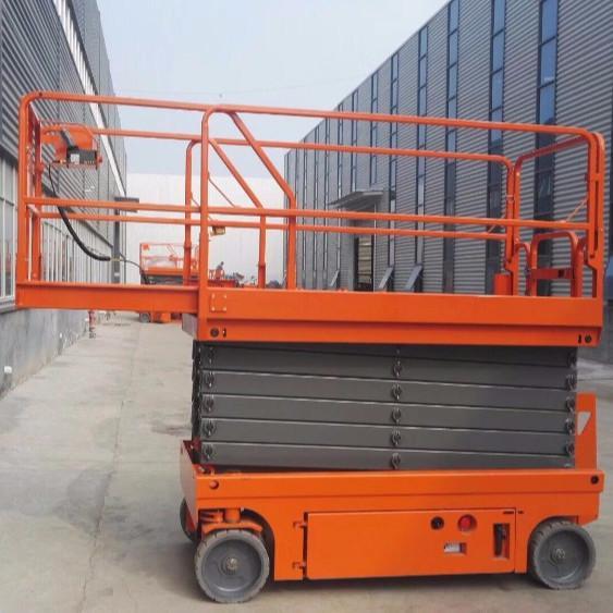 Buy Small Scissor Lift Platform Mechanical Durable Mobile Scissor Lift Tables at wholesale prices