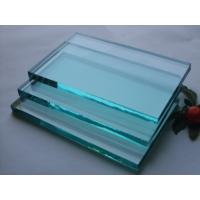 Toughened Laminated Flat Float Clear Mirror Glass , 2mm - 19mm Auto Windshield Glass