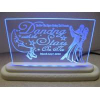 Quality Edge - Lit Flashing Pattern Acrylic Signs Letters for sale