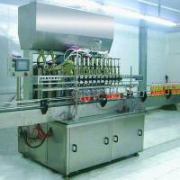 Quality Quantitative Automatic Lube Oil Filling Machine 2000×1300×2800MM for 5L PET Bottle for sale