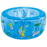 Quality Plastic Round Baby Inflatable Swimming Pools ,134x57cm Kids Playing Water Pools for sale